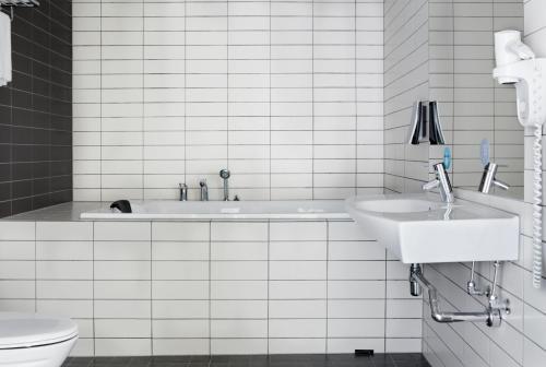 Et badeværelse på Comfort Hotel Kristiansand