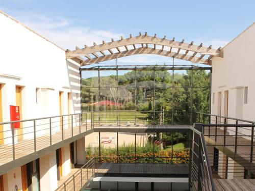 A balcony or terrace at Apartment Adonis Aix en Provence-1