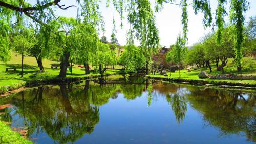 A piscina localizada em Los Ancares Resort ou nos arredores