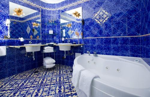 A bathroom at Casa Morgano