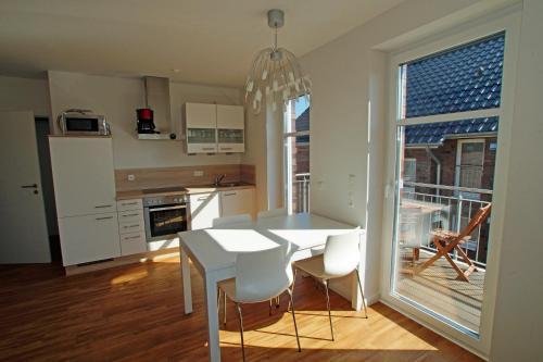 Küche/Küchenzeile in der Unterkunft Ferienhof Altes Land