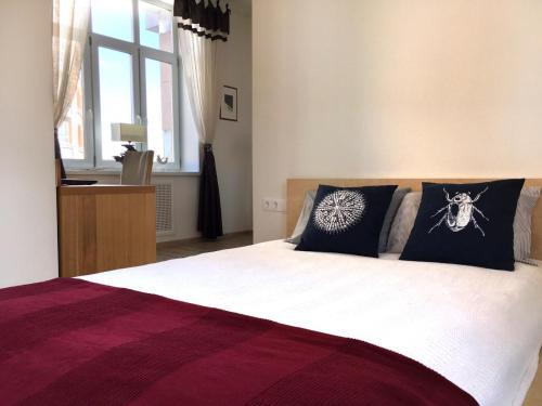 Кровать или кровати в номере Apartment in Premier Palace