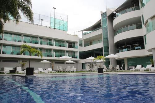 The swimming pool at or near Hotel Rio 1300