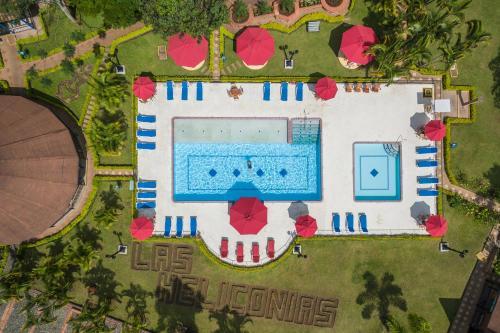 The floor plan of Decameron Las Heliconias - All Inclusive