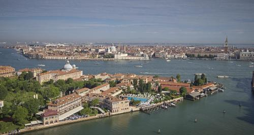 A bird's-eye view of Cipriani, A Belmond Hotel, Venice