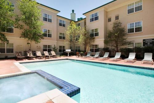 The swimming pool at or near Hyatt House Colorado Springs