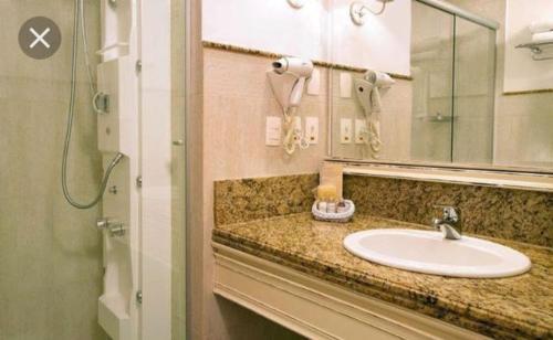 A bathroom at Apartamento Il Campanario