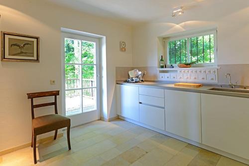 Küche/Küchenzeile in der Unterkunft Villa Reitgutweg