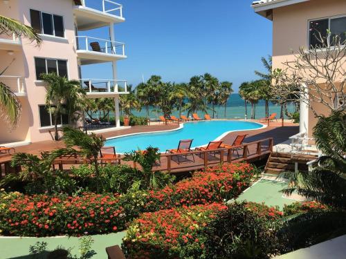 The swimming pool at or near Laru Beya Resort