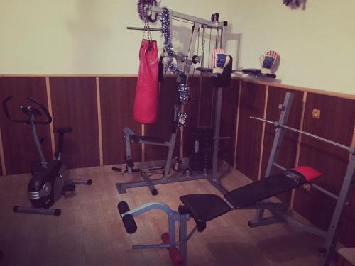Фитнес център и/или фитнес съоражения в Family Hotel Asi