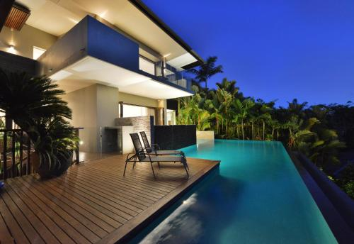 The swimming pool at or near 61 Murphy Street - Luxury Holiday Home