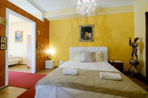 Krevet ili kreveti u jedinici u okviru objekta Vila Rococo