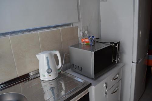 Una cocina o zona de cocina en Casa La Norma