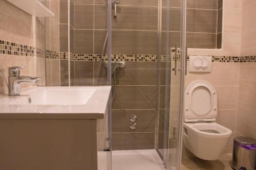 A bathroom at Apartmens Melisa