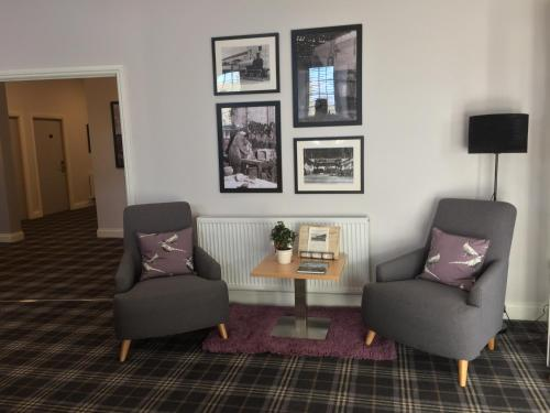 A seating area at The Sidings Inverurie