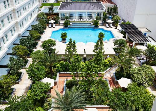 A view of the pool at Park Hyatt Saigon or nearby