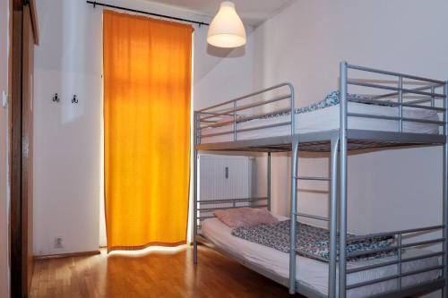 호스텔 원 프라하 객실 이층 침대