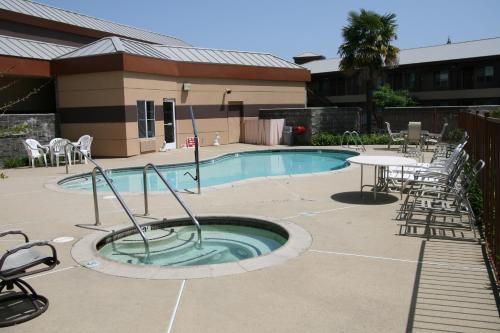 The swimming pool at or near Days Inn by Wyndham Rocklin/Sacramento
