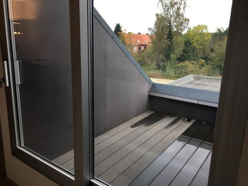 A balcony or terrace at Caramel