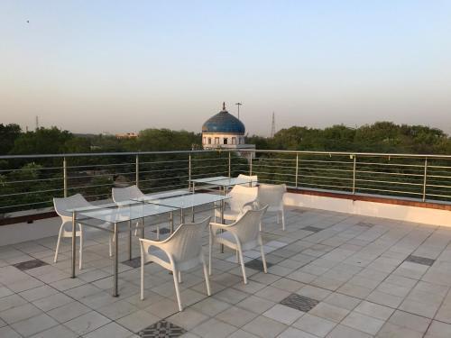 A balcony or terrace at B Nineteen