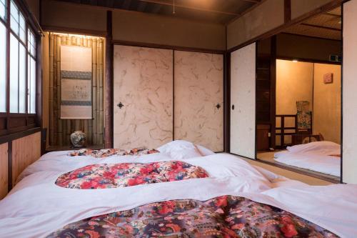 夢路 Vintage Villaにあるベッド