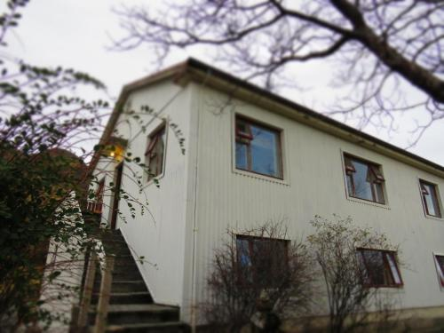 Guesthouse Kálfafellsstadur during the winter