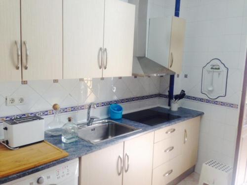 Una cocina o zona de cocina en Alcaiceria