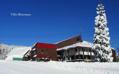 Villa Monrepos during the winter