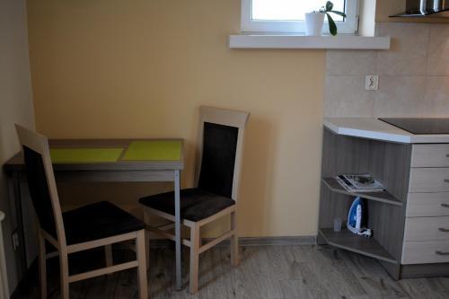 Kuchnia lub aneks kuchenny w obiekcie DRAGON Apartments (Helena)