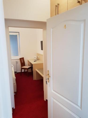 Koupelna v ubytování Hotel Bax