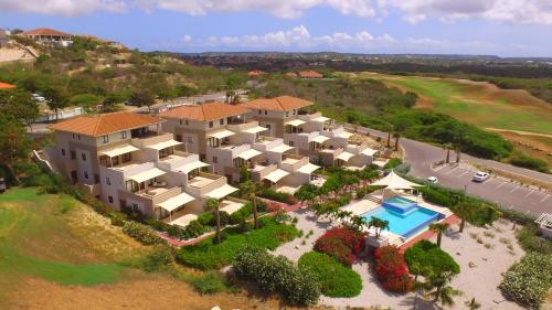 A bird's-eye view of Green View at Blue Bay Curacao