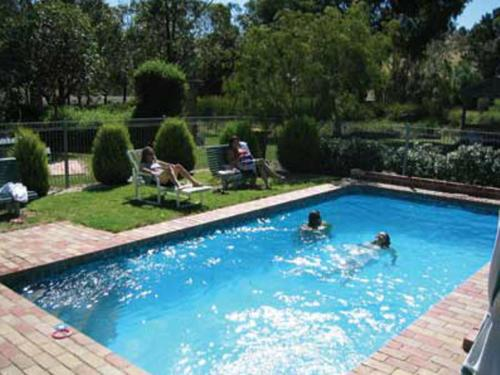 The swimming pool at or near Aristocrat Waurnvale