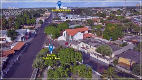 A bird's-eye view of Hotel Icamiabas