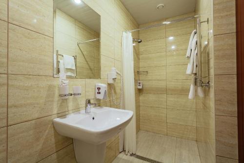 Ванная комната в Гостиница Амарис