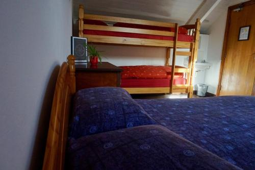 A bunk bed or bunk beds in a room at Russagh Mill Hostel & Adventures