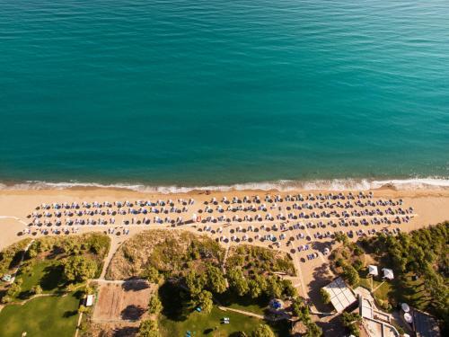 A bird's-eye view of Agapi Beach Resort Premium All Inclusive