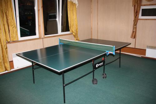 Ping-pong facilities at Tourist Complex Botik or nearby