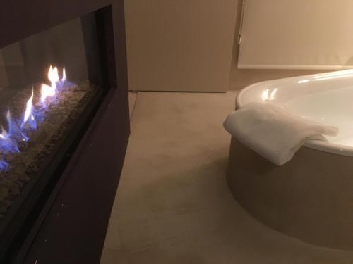 Een badkamer bij Design B&B Logidenri