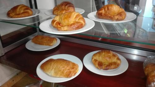Завтрак для гостей Hostal Athlanta