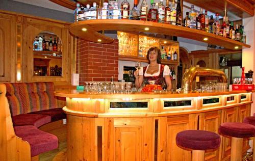 Lounge oder Bar in der Unterkunft Hotel Jägerhof