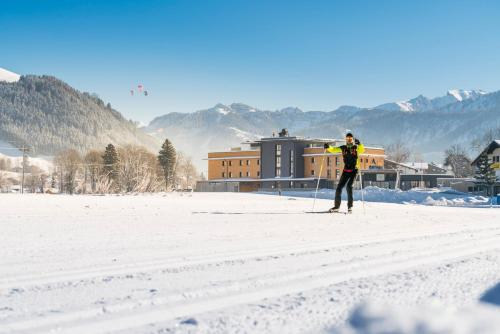 Ferienwohnungen Guthof im Winter