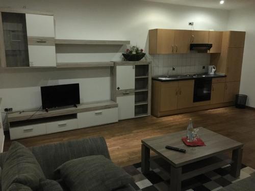 Küche/Küchenzeile in der Unterkunft Hotel Friesenhof