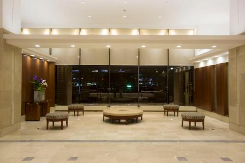 The lobby or reception area at Best Western Premier Seoul Garden Hotel
