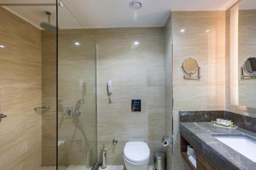 Ванная комната в Side Sungate Hotel - All Inclusive