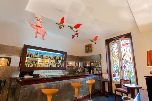 Salone o bar di Hôtel Windsor