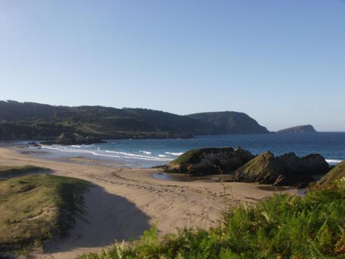 A beach at or near the country house
