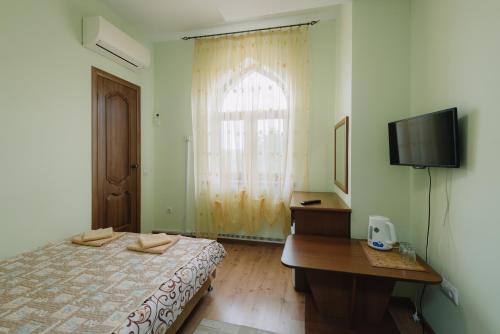Кровать или кровати в номере Ak-Kaya