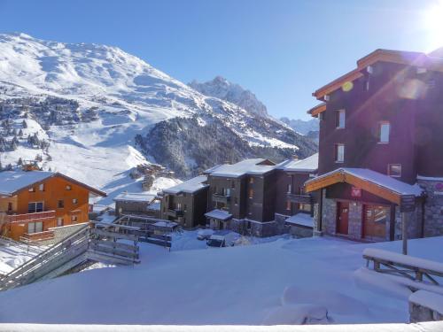 Résidence Alpinea during the winter