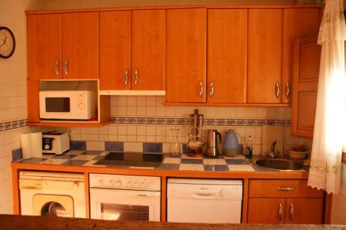 Una cocina o zona de cocina en Casa Rural Uyarra