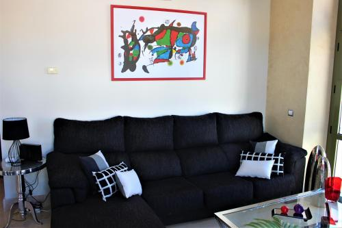 Zona de estar de Luxury Apartment Sierpes